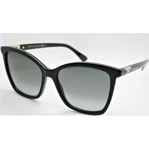Jimmy Choo Okulary przeciwsłoneczne damskie ALI/S 807FQ - czarny, filtr UV 400