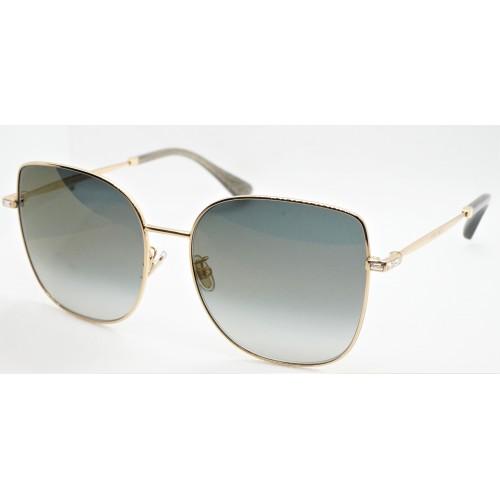 Jimmy Choo Okulary przeciwsłoneczne damskie FANNY/G/S/K J5GFQ- złoty, filtr UV 400