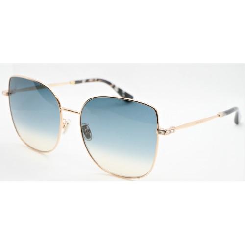 Jimmy Choo Okulary przeciwsłoneczne damskie FANNY/G/S/K DDBI4- złoty, filtr UV 400
