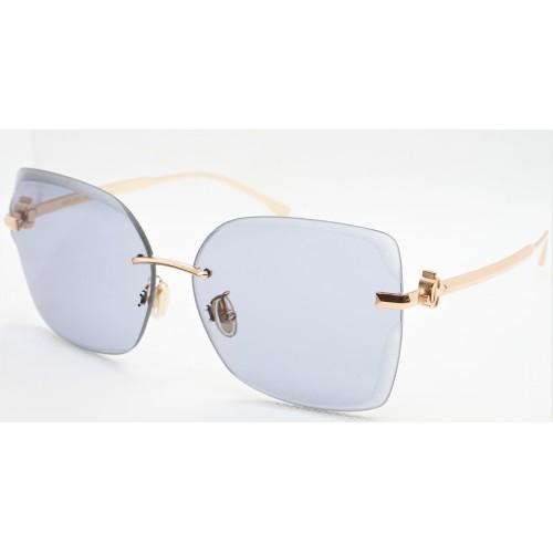 Jimmy Choo Okulary przeciwsłoneczne damskie CORIN/G/S DDBK1- złoty, filtr UV 400