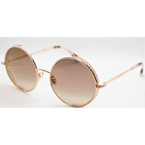 Jimmy Choo Okulary przeciwsłoneczne damskie GOLDY/S DDBJL - różowy, filtr UV 400