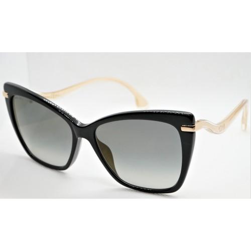 Jimmy Choo Okulary przeciwsłoneczne damskie SELBY/G/S 807FQ - czarny, filtr UV 400