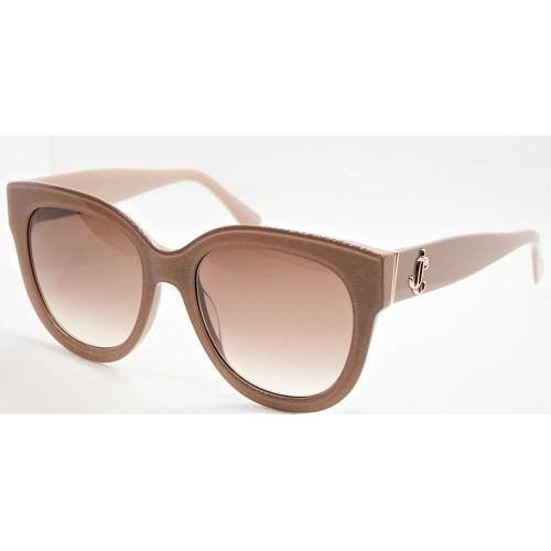 Jimmy Choo Okulary przeciwsłoneczne damskie JILL/G/S KONHA - beżowy, filtr UV 400