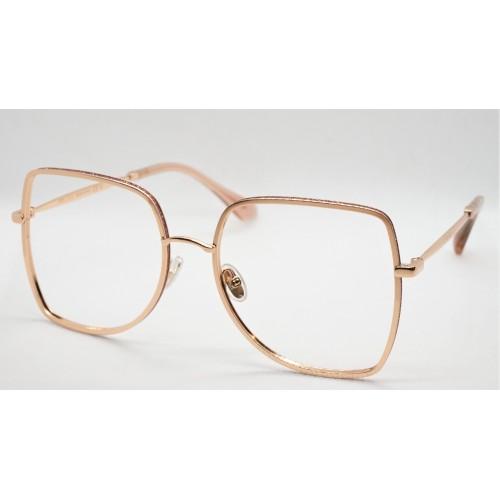 Jimmy Choo Oprawa okularowa damska JC228 EYR - różowy, złoty