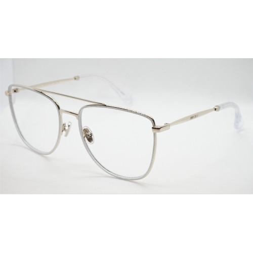 Jimmy Choo Oprawa okularowa damska JC250 MXW- złoty, perłowy