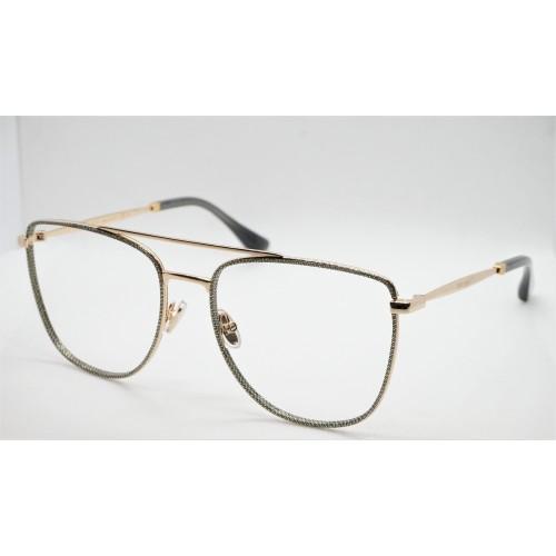 Jimmy Choo Oprawa okularowa damska JC250 W8Q- złoty, szary