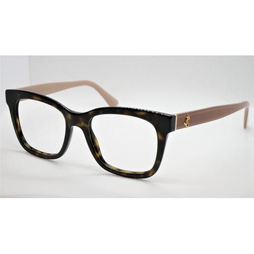 Jimmy Choo Oprawa okularowa damska JC277 ONS - szylkret, beżowy