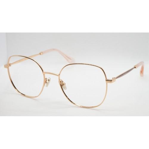 Jimmy Choo Oprawa okularowa damska JC281 BKU - różowy, złoty