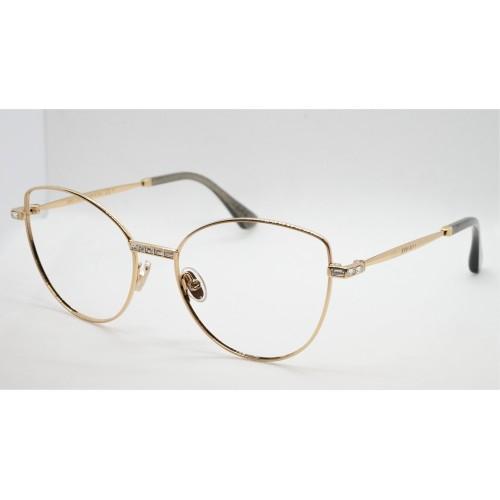Jimmy Choo Oprawa okularowa damska JC285 J5G - złoty