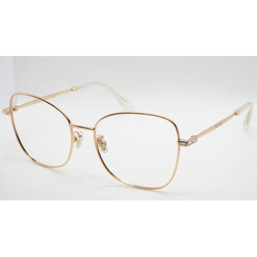 Jimmy Choo Oprawa okularowa damska JC286/G J5G - złoty