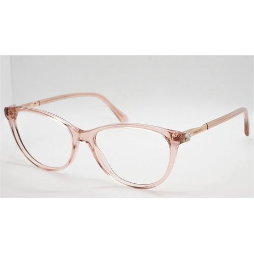 Jimmy Choo Oprawa okularowa damska JC287 FWM - różowy, transparentny
