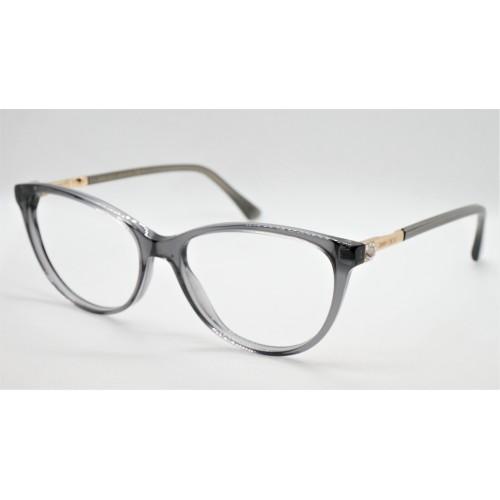 Jimmy Choo Oprawa okularowa damska JC287 KB7 - szary, transparentny