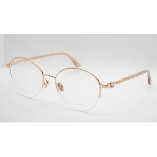 Jimmy Choo Oprawa okularowa damska JC290/F BKU - różowy