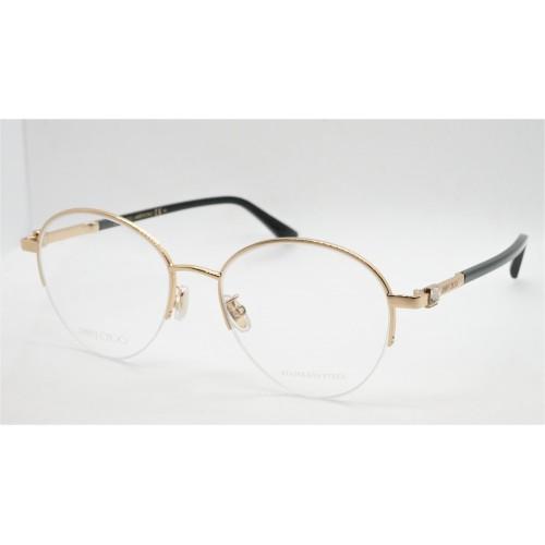 Jimmy Choo Oprawa okularowa damska JC290/F RHL - złoty, czarny