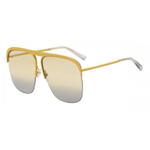 Givenchy Okulary przeciwsłoneczne damskie GV 7173 - żółty, filtr UV 400