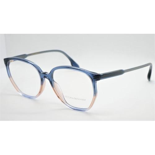 Victoria Beckham Oprawa okularowa damska VB2613  - niebieski
