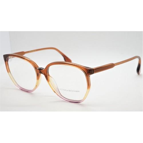 Victoria Beckham Oprawa okularowa damska VB2613  - brązowy