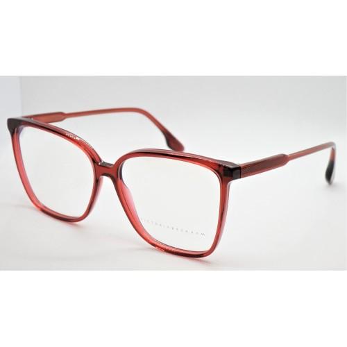 Victoria Beckham Oprawa okularowa damska VB2603  - czerwony
