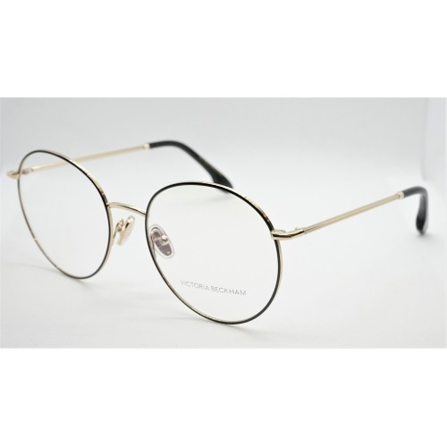 Victoria Beckham Oprawa okularowa damska VB2110 - czarny, złoty