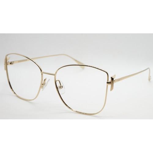 Fendi Oprawa okularowa damska FF0390G J5G - złoty
