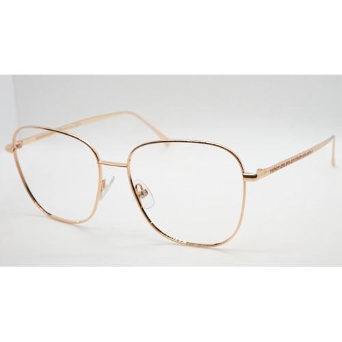 Fendi Oprawa okularowa damska FF0390G DDB - złoty, różowy