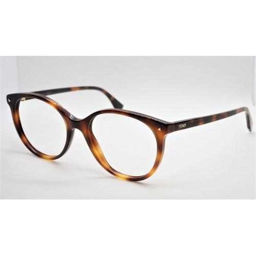 Fendi Oprawa okularowa damska FF0416 086 - szylkret