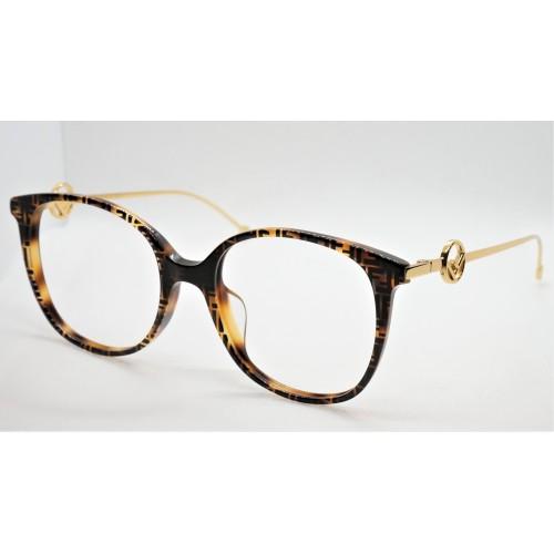 Fendi Oprawa okularowa damska FF0425F 086 - szylkret