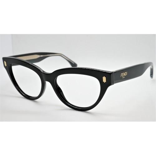 Fendi Oprawa okularowa damska FF0443  807 - czarny