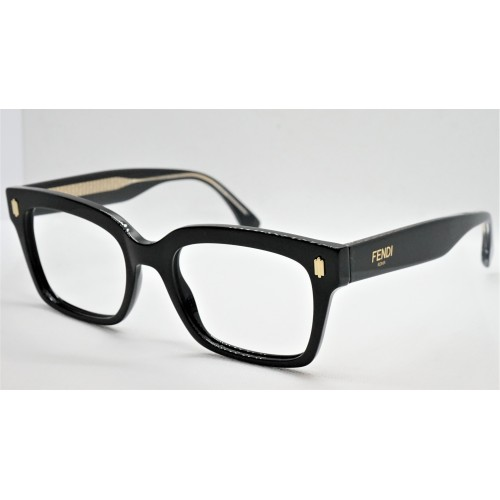 Fendi Oprawa okularowa damska FF0444  807 - czarny