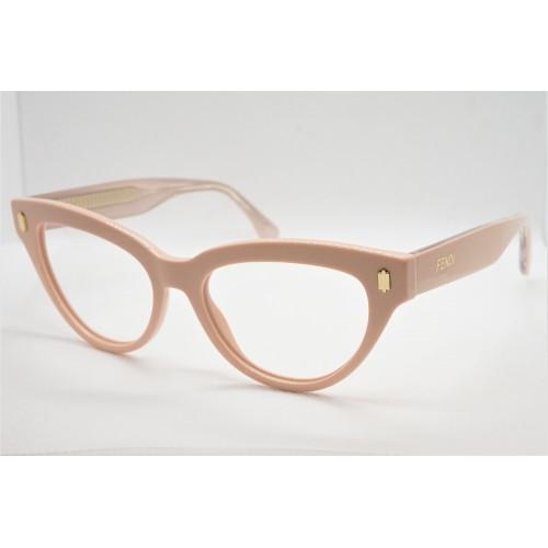 Fendi Oprawa okularowa damska FF0443 35J - różowy