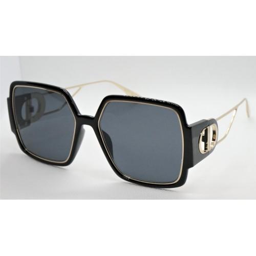 DIOR Okulary przeciwsłoneczne damskie 30Motaigne2 12M22K - czarny, filtr UV 400