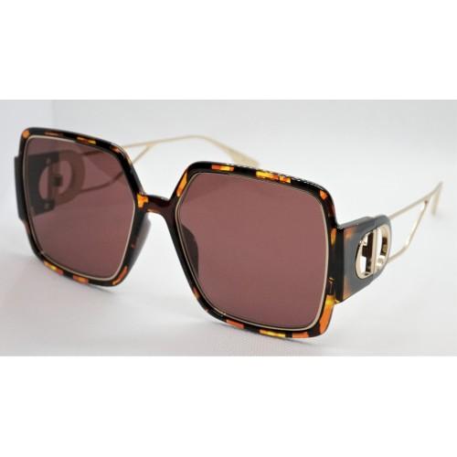 DIOR Okulary przeciwsłoneczne damskie 30Motaigne2 EPZU1 - szylkret, filtr UV 400