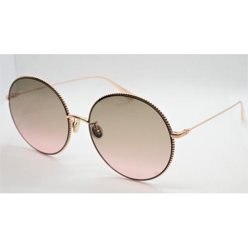 DIOR Okulary przeciwsłoneczne damskie Society2F DDB - złoty, różowy, filtr UV 400