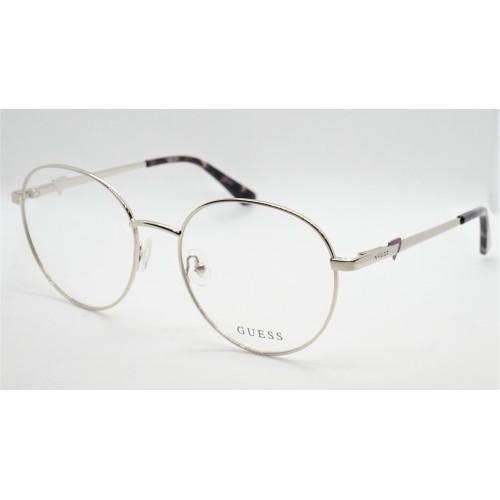 GUESS Oprawa okularowa damska GU2812 010 - srebrny