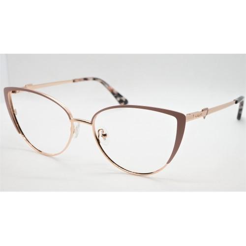 GUESS Oprawa okularowa damska GU2813 058 - złoty, beżowy