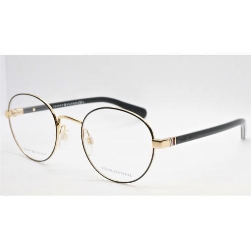 Tommy Hilfiger Oprawa okularowa męska TH1773 RHL - złoty, czarny