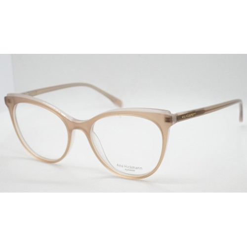Ana Hickmann Oprawa okularowa damska AH6386 H03 - beżowy