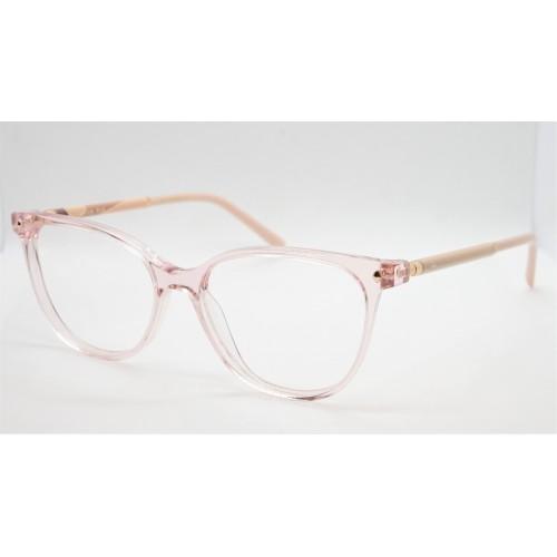 Ana Hickmann Oprawa okularowa damska AH6404 T01 - różowy