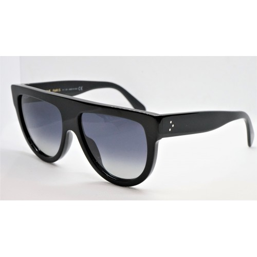 Celine Okulary przeciwsłoneczne damskie CL4001IN 01D - czarny, polaryzacja, filtr UV 400