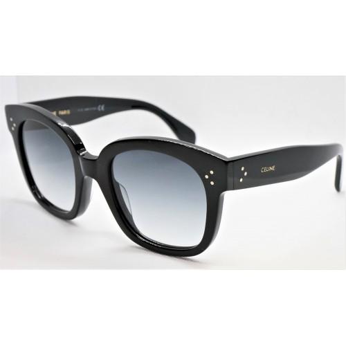 Celine Okulary przeciwsłoneczne damskie CL4002UN 01B - czarny, filtr UV 400