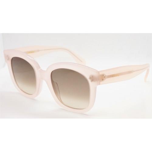 Celine Okulary przeciwsłoneczne damskie CL40002U 90F - beżowy, filtr UV 400