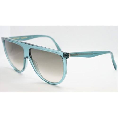 Celine Okulary przeciwsłoneczne damskie CL40006I 96F - zielony, transparentny, filtr UV 400