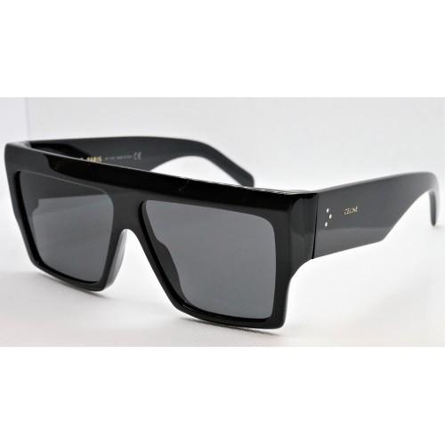 Celine Okulary przeciwsłoneczne damskie CL40092I 01A - czarny, filtr UV 400