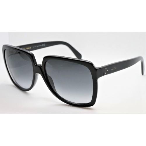 Celine Okulary przeciwsłoneczne damskie CL40146I 01B - czarny, filtr UV 400