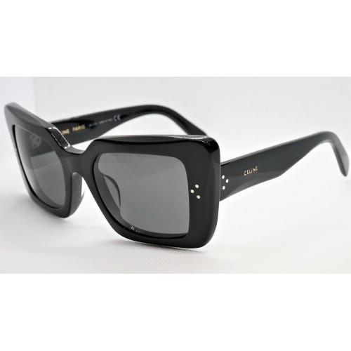 Celine Okulary przeciwsłoneczne damskie CL40156U 01A - czarny, filtr UV 400