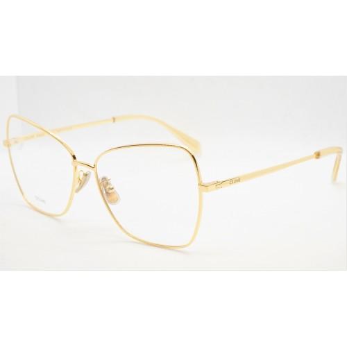 Celine Oprawa okularowa damska CL50024UV 030 - złoty