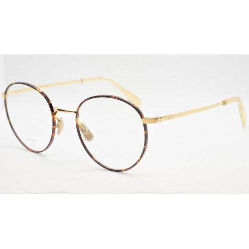 Celine Oprawa okularowa damska CL50065U 030 - złoty, szylkret