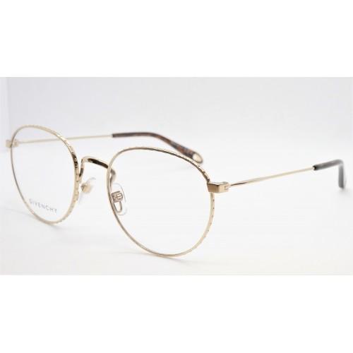 Givenchy Oprawa okularowa damska GV0072 06J - złoty