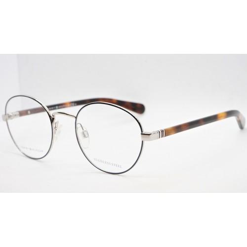 Tommy Hilfiger Oprawa okularowa męska TH1773 DOH - szylkret, srebrny, granatowy