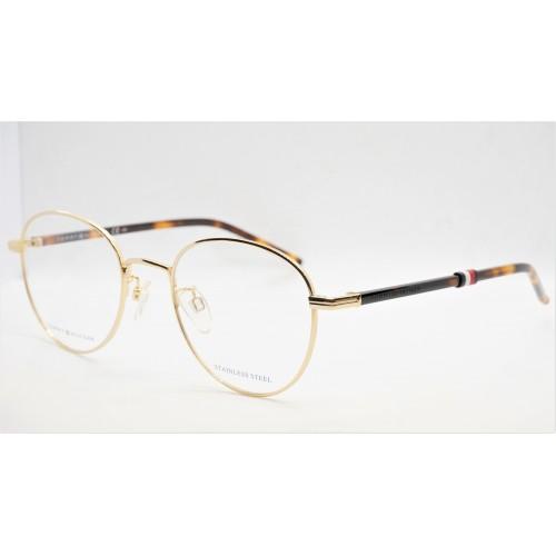 Tommy Hilfiger Oprawa okularowa męska TH1690/G J5G - szylkret, złoty
